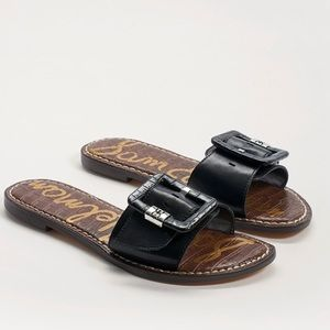 Sam Edelman Granada Slide Sandals in Black